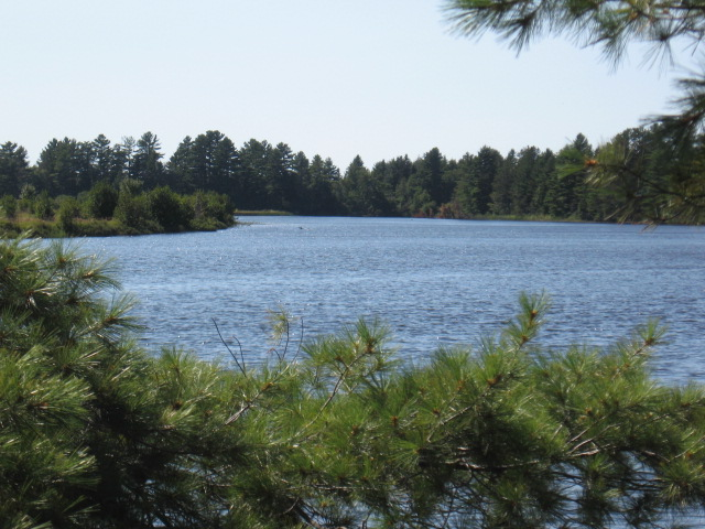 Tahquamenon river mouth property clear shot 2